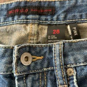 Buffalo David Bitton Cropped Jeans